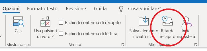 Outlook_posponi-1 - programmare invio email