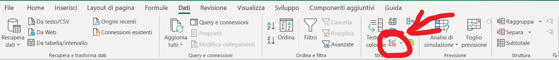 menu_convalida_Dati - come creare unmenu a tendina in excel